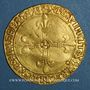 Coins Louis XII (1498-1514). Ecu d'or au soleil (25 avril 1498). Lyon, point 12e