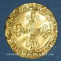 Coins Louis XII (1498-1514). Ecu d'or au soleil. Rouen (point 15e)