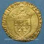 Coins Louis XII (1498-1514). Ecu d'or au soleil. Troyes, point 14e