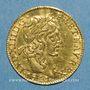 Coins Louis XIII (1610-1643). Demi-louis louis d'or 1641 A