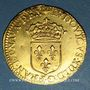 Coins Louis XIII (1610-1643). Ecu d'or au soleil, 1er type, 1637D. Lyon