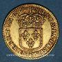 Coins Louis XIV (1643-1715). Demi-louis à l'écu 1692 P. Dijon. Réformation