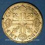 Coins Louis XIV (1643-1715). Louis d'or à la mèche courte 1643 A