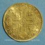 Coins Louis XIV (1643-1715). Louis d'or à la mèche longue 1651 A