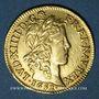 Coins Louis XIV (1643-1715). Louis d'or à la mèche longue 1652 A
