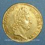 Coins Louis XIV (1643-1715). Louis d'or aux 8 L et aux insignes 1701 A. Réformation