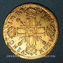 Coins Louis XIV (1643-1715). Louis d'or aux 8L et aux insignes 1701B. Rouen. Réformation !