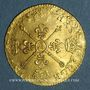 Coins Louis XIV (1643-1715). Louis d'or aux insignes A (date illisible). Réformation