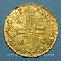 Coins Louis XIV (1643-1715). Louis d'or juvénile lauré 1670 L. Bayonne