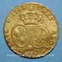 Coins Louis XV (1715-1774). Double louis au bandeau 1759BB. Strasbourg