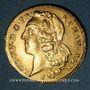 Coins Louis XV (1715-1774). Double louis au bandeau 1770 I. Limoges