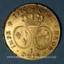 Coins Louis XV (1715-1774). Double louis au bandeau 1770I. Limoges