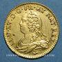 Coins Louis XV (1715-1774). Louis aux lunettes 1727A