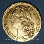 Coins Louis XV (1715-1774). Louis d'or au bandeau 1741 A