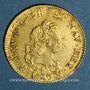 Coins Louis XV (1715-1774). Louis d'or aux 2 L 1720 A. Réformation