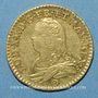 Coins Louis XV (1715-1774). Louis d'or aux lunettes 1731 E. Tours