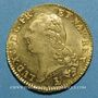 Coins Louis XVI (1774-1793). Double louis d'or à la tête nue 1786 T. Nantes, 2e semestre