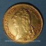 Coins Louis XVI (1774-1793). Double louis d'or au buste nu 1792 A. 1er semestre