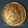Coins Louis XVI (1774-1793). Double louis d'or de Béarn au buste habillé 1778. Pau
