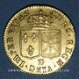 Coins Louis XVI (1774-1793). Louis d'or au buste nu 1785 D. Lyon
