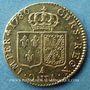 Coins Louis XVI (1774-1793). Louis d'or au buste nu 1786 A. 2e semestre