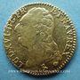 Coins Louis XVI (1774-1793). Louis d'or au buste nu 1786A. 2e semestre
