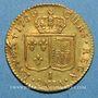 Coins Louis XVI (1774-1793). Louis d'or au buste nu 1786I. Limoges. 2e semestre