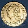 Coins Louis XVI (1774-1793). Louis d'or au buste nu 1787B. Rouen