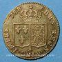 Coins Louis XVI (1774-1793). Louis d'or au buste nu 1788A. 1er semestre