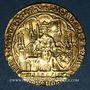 Coins Philippe VI de Valois (1328-1350). Ecu d'or à la chaise. 4e émission (13 août 1348)