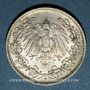 Coins Allemagne. 1/2 mark 1906D