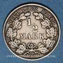 Coins Allemagne. 1/2 mark 1909E