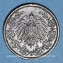 Coins Allemagne. 1/2 mark 1918G