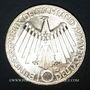 Coins Allemagne. 10 mark 1972D. Jeux olympiques. Spirale,  in Deutschland