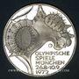 Coins Allemagne. 10 mark 1972D. Jeux olympiques. Stade