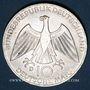 Coins Allemagne. 10 mark 1972D. Jeux olympiques, Symbole d'union