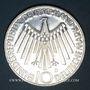 Coins Allemagne. 10 mark 1972F. Jeux olympiques. Spirale,  in Deutschland