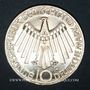 Coins Allemagne. 10 mark 1972G. Jeux olympiques. Spirale,  in Deutschland