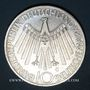 Coins Allemagne. 10 mark 1972G. Jeux olympiques. Spirale, in München