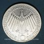 Coins Allemagne. 10 mark 1972J. Jeux olympiques. Spirale,  in Deutschland