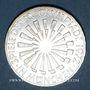 Coins Allemagne. 10 mark 1972J. Jeux olympiques. Spirale, in München