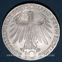 Coins Allemagne. 10 mark 1972J. Jeux olympiques. Sportif et sportive