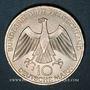 Coins Allemagne. 10 mark 1972J. Jeux olympiques, Symbole d'union