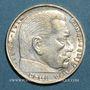 Coins Allemagne. 3e Reich. 2 reichsmark 1937G. Hindenbourg