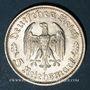 Coins Allemagne. 3e reich. 5 reichsmark 1934F. Schiller