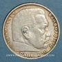 Coins Allemagne. 3e Reich. 5 reichsmark 1935 D Hindenbourg