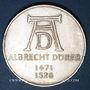 Coins Allemagne. 5 mark 1971D. Dürer