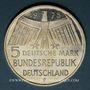 Coins Allemagne. 5 mark 1975F. Année du patrimoine (Denkmalschutzjahr)