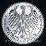 Coins Allemagne. 5 mark 1975J. Frédéric Ebert
