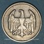 Coins Allemagne. République de Weimar. 1 mark 1924F
